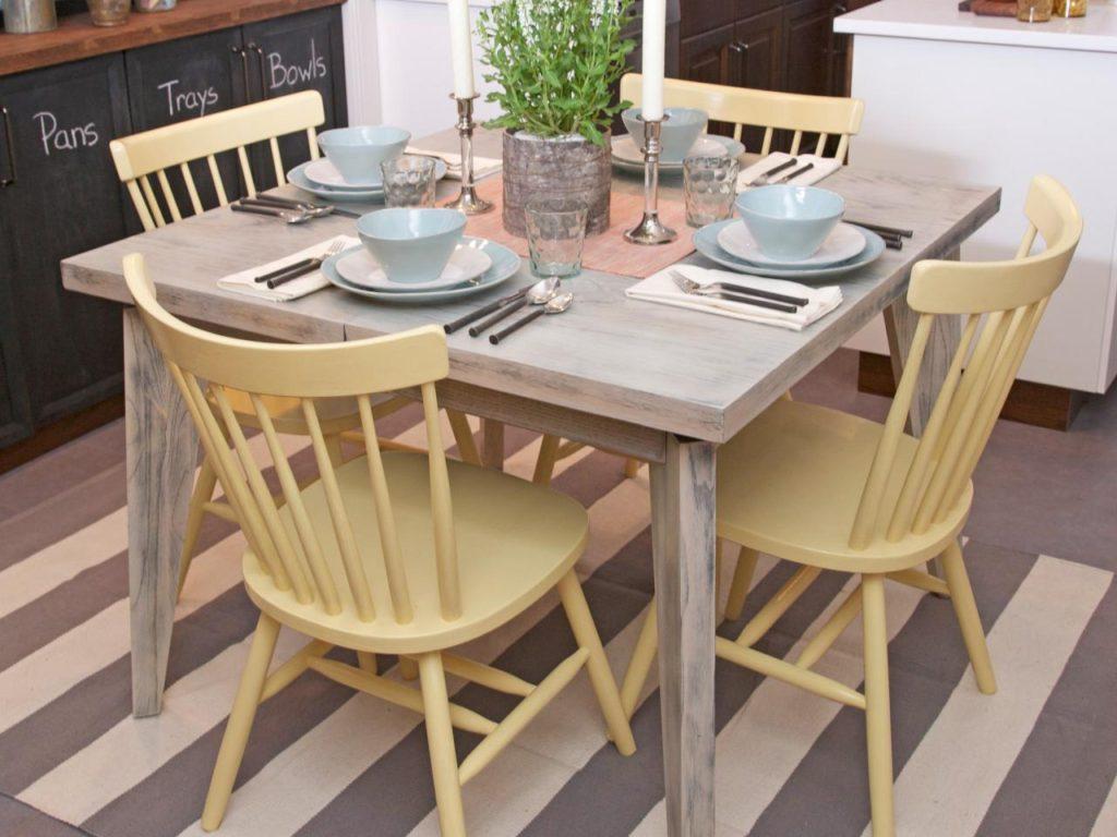 каким цветом покрасить стол