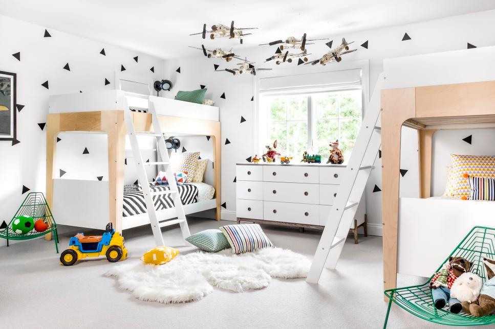 детский кровать двухъярусный