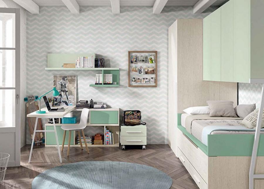 решение маленькой детской комнаты
