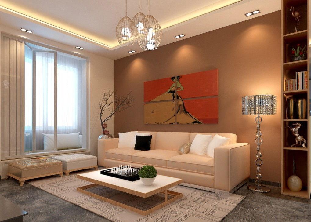 освещение потолка гостиной фото