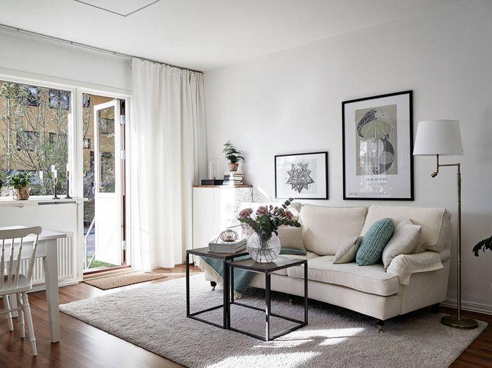 современная белая мебель