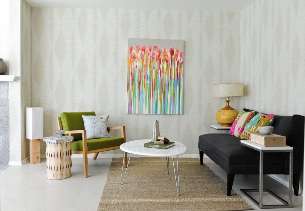 ретро дизайн квартиры