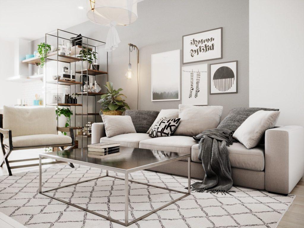 проект квартиры скандинавский стиль