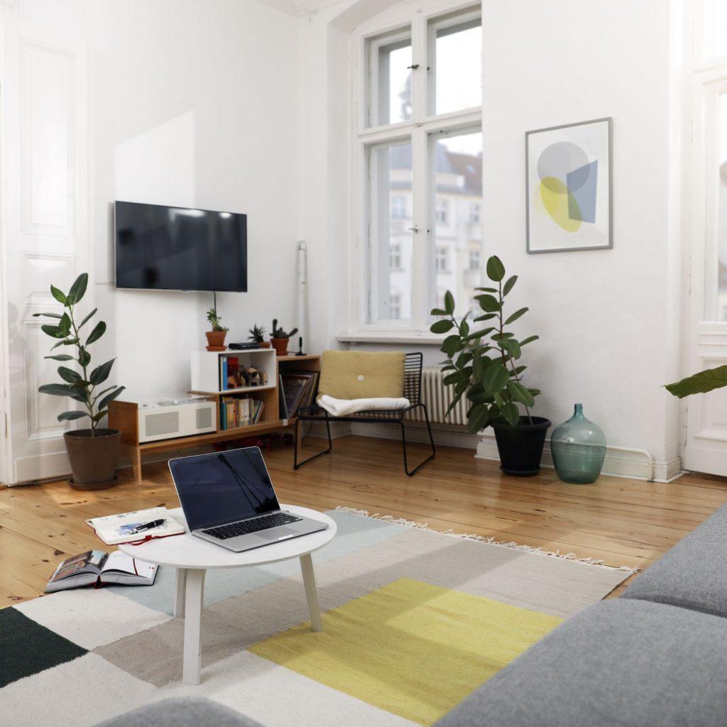 как красиво расставить мебель