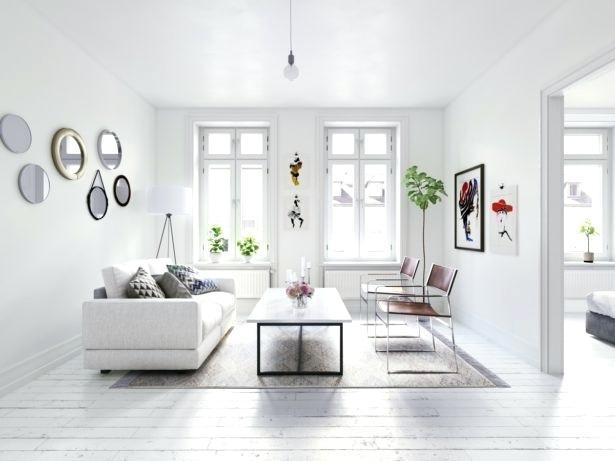 квартира белый интерьер