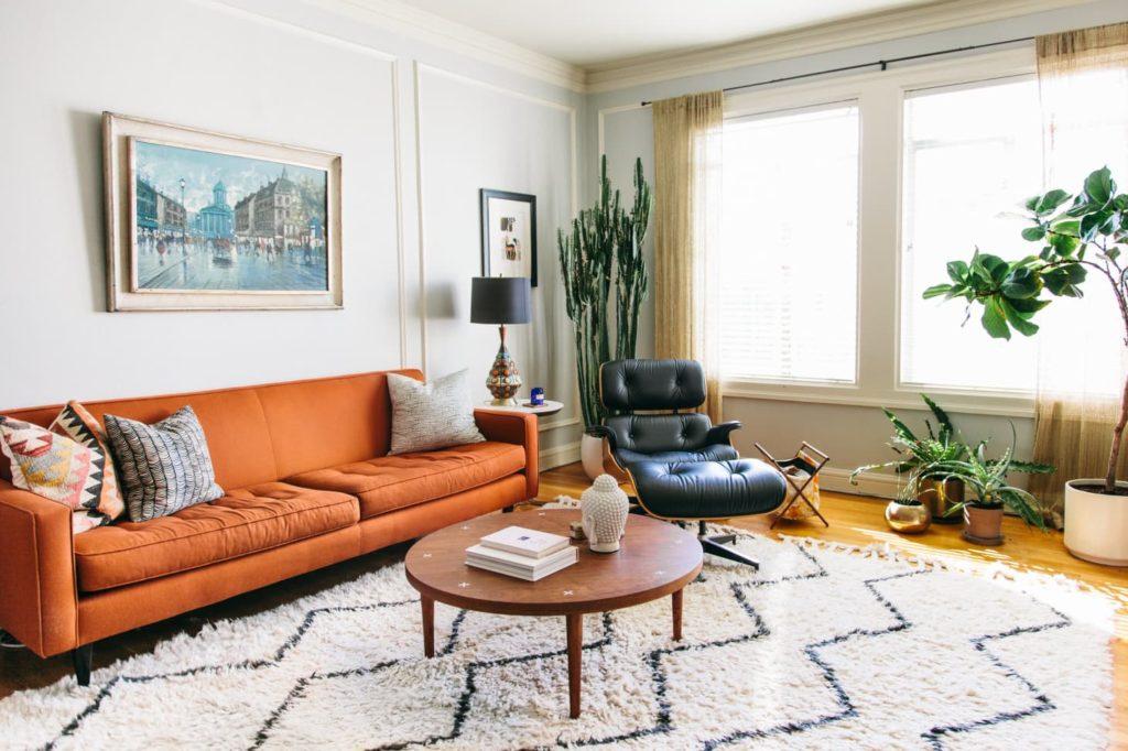 красивые ковры в гостиную