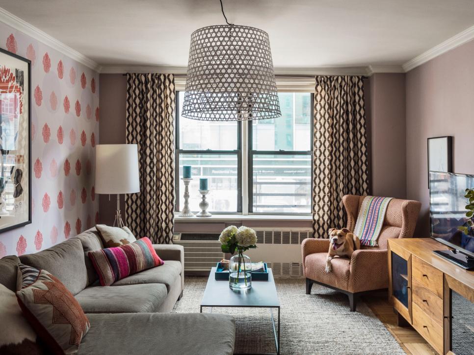 цвета стен в интерьере гостиной