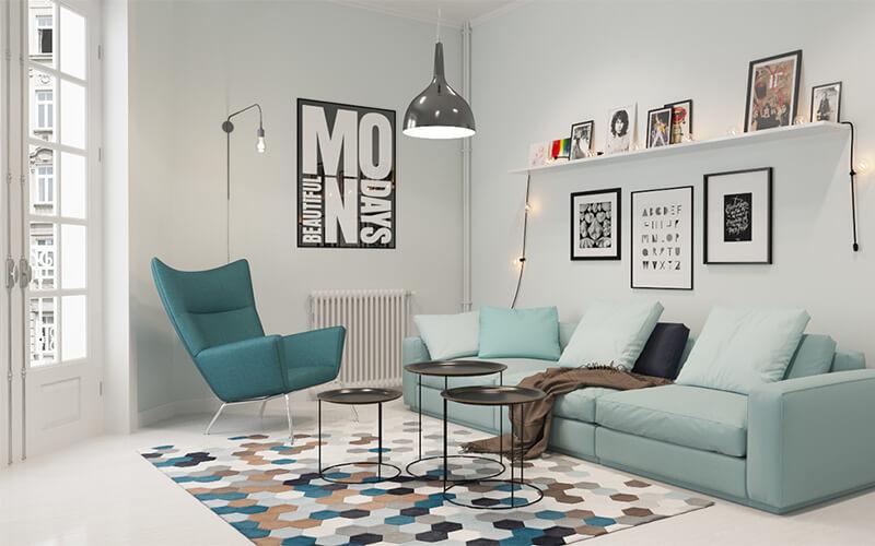 скандинавский дизайн квартиры