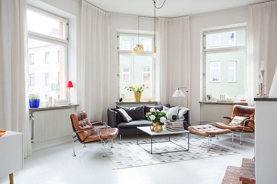 как расставить мебель в узкой комнате