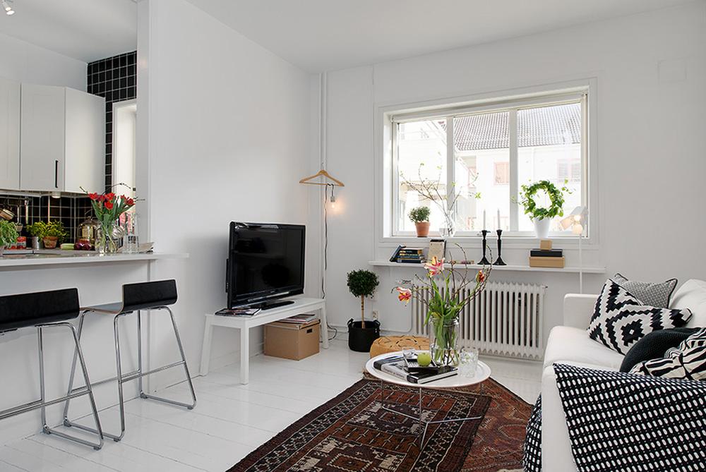 маленькая квартира студия