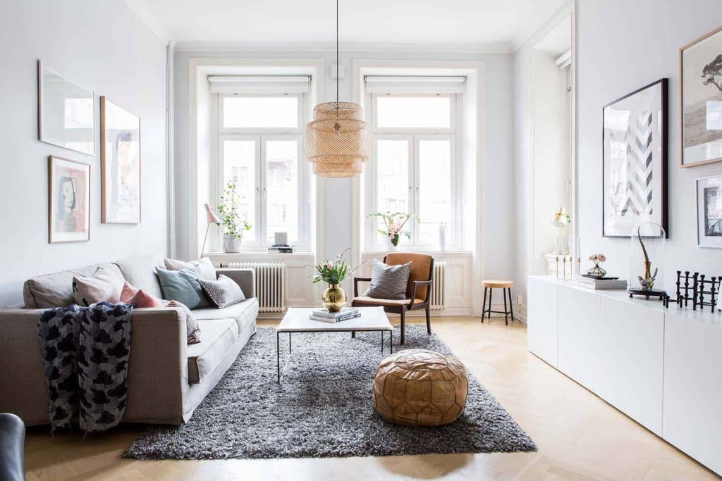 как расположить мебель