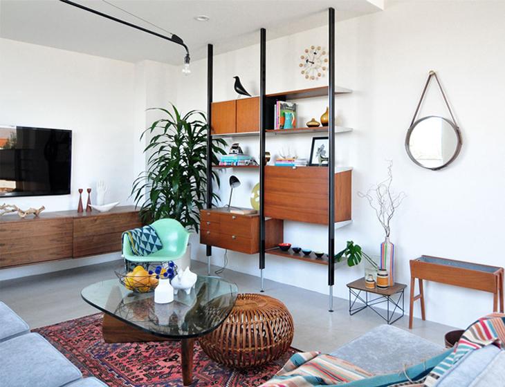 ретро интерьер квартиры