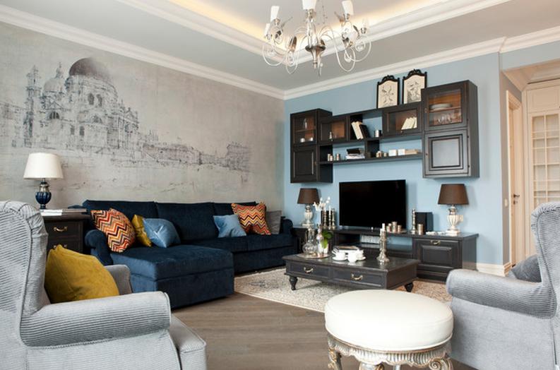 гостиные мебель цвета