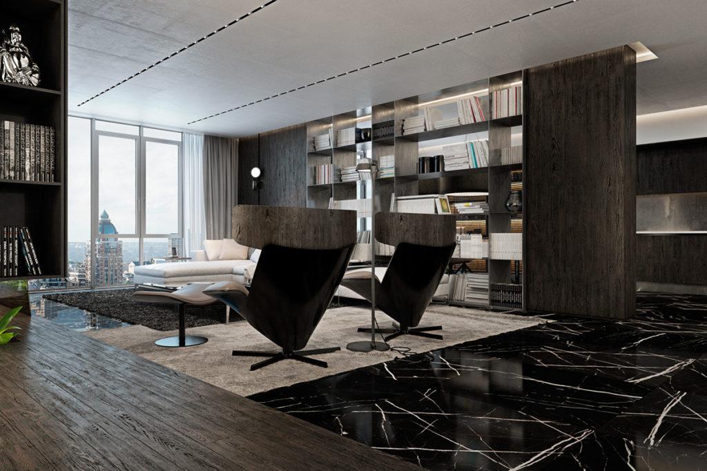 интерьер гостиной в современном стиле фото