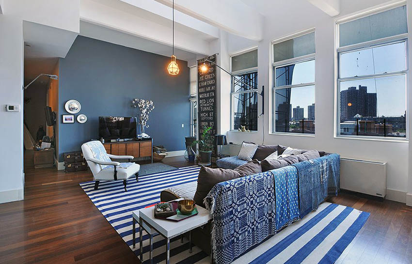 выбрать цвет гостиной