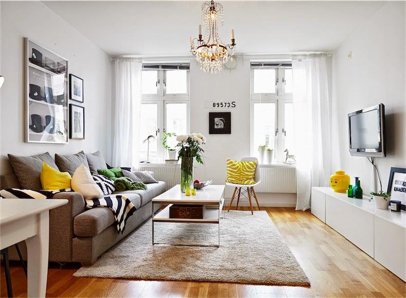 красивые интерьеры маленьких квартир