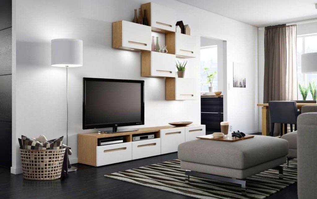 гостиная в современном стиле в квартире