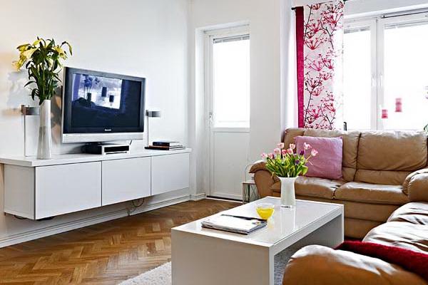 интерьер в маленькой квартире фото