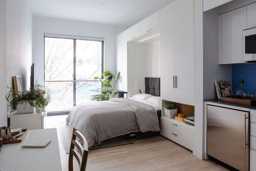дизайн квартиры в стиле студия