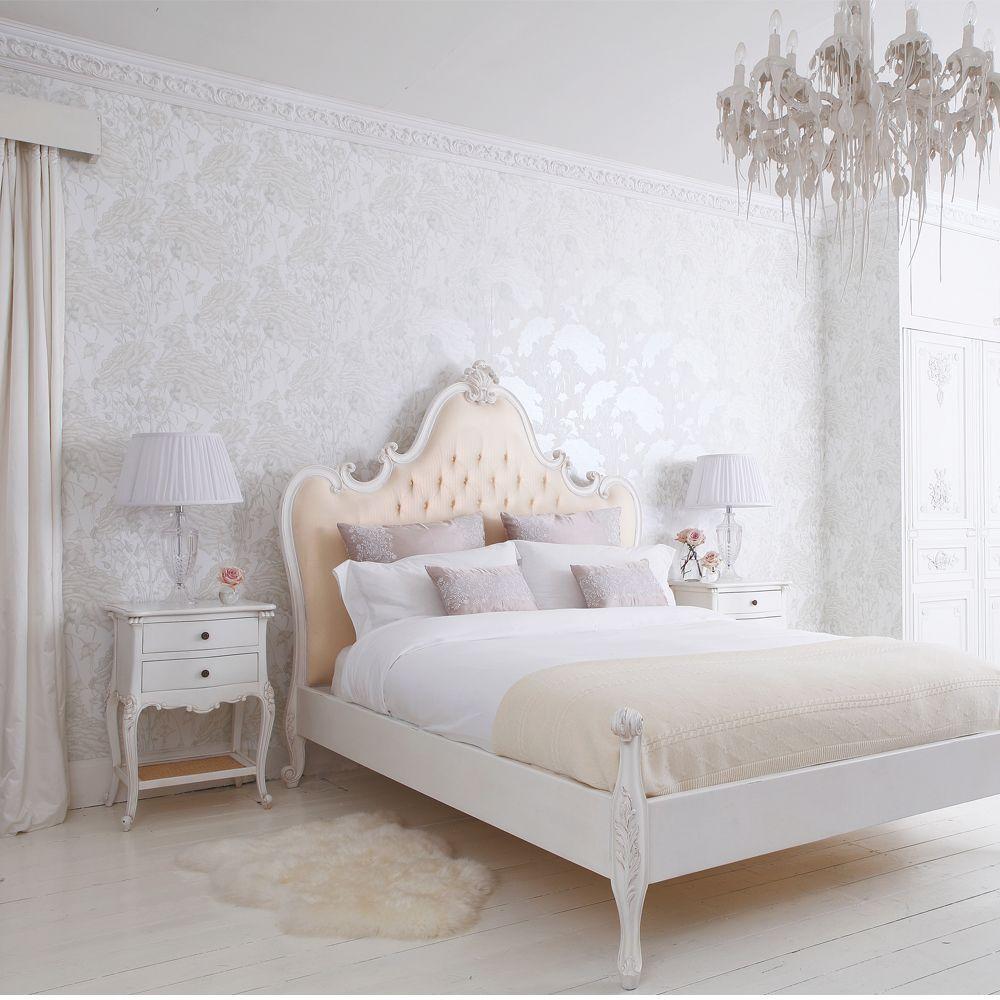спальня гарнитур белый