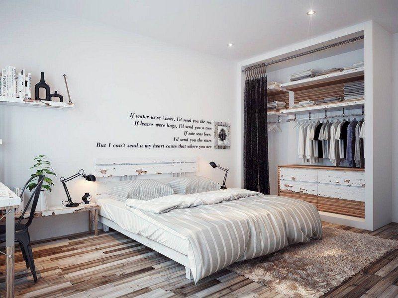 маленькие спальни +в современном стиле