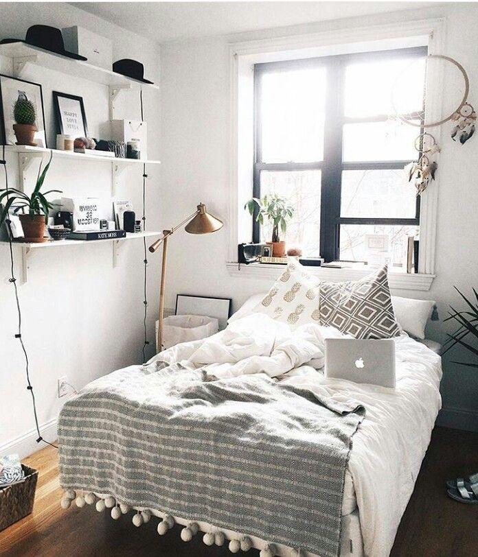 маленькие спальни в современном стиле