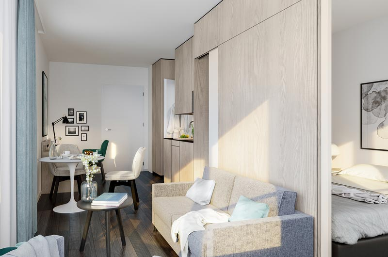 самые маленькие квартиры