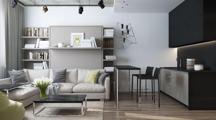квартира стиль минимализм