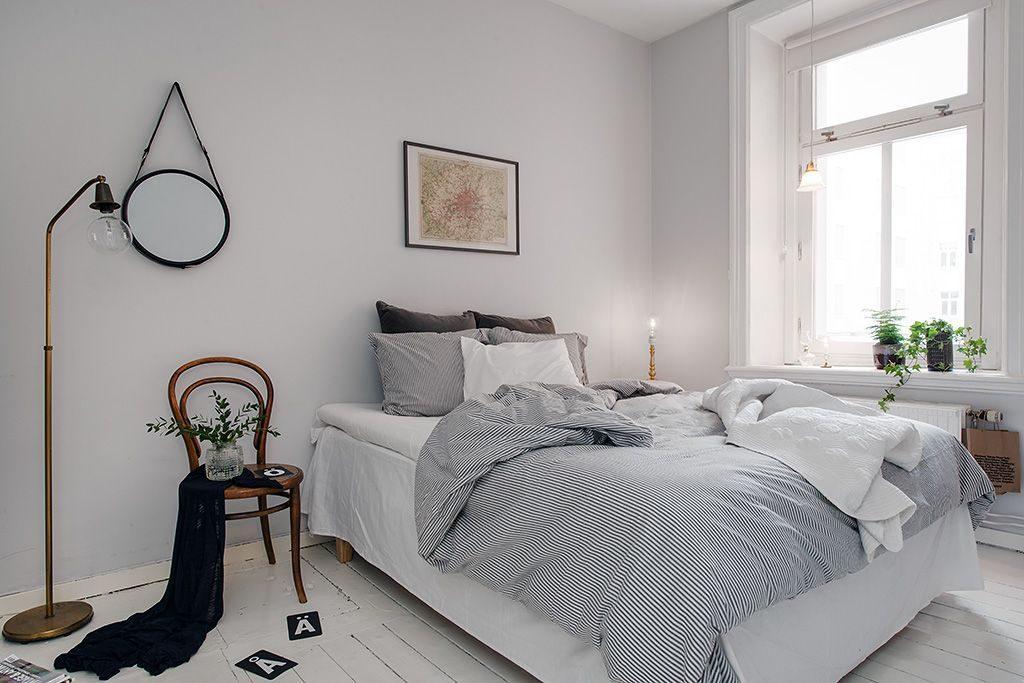 белые светлые спальни