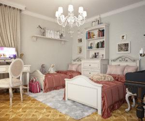 детские кровати для двоих детей