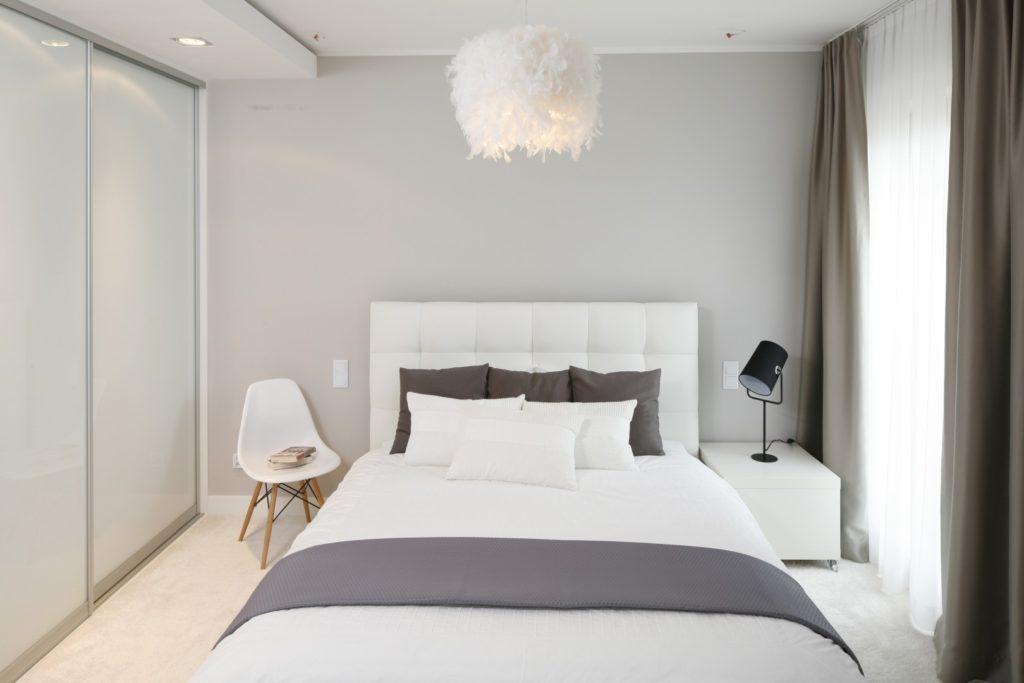 скандинавский минимализм спальня