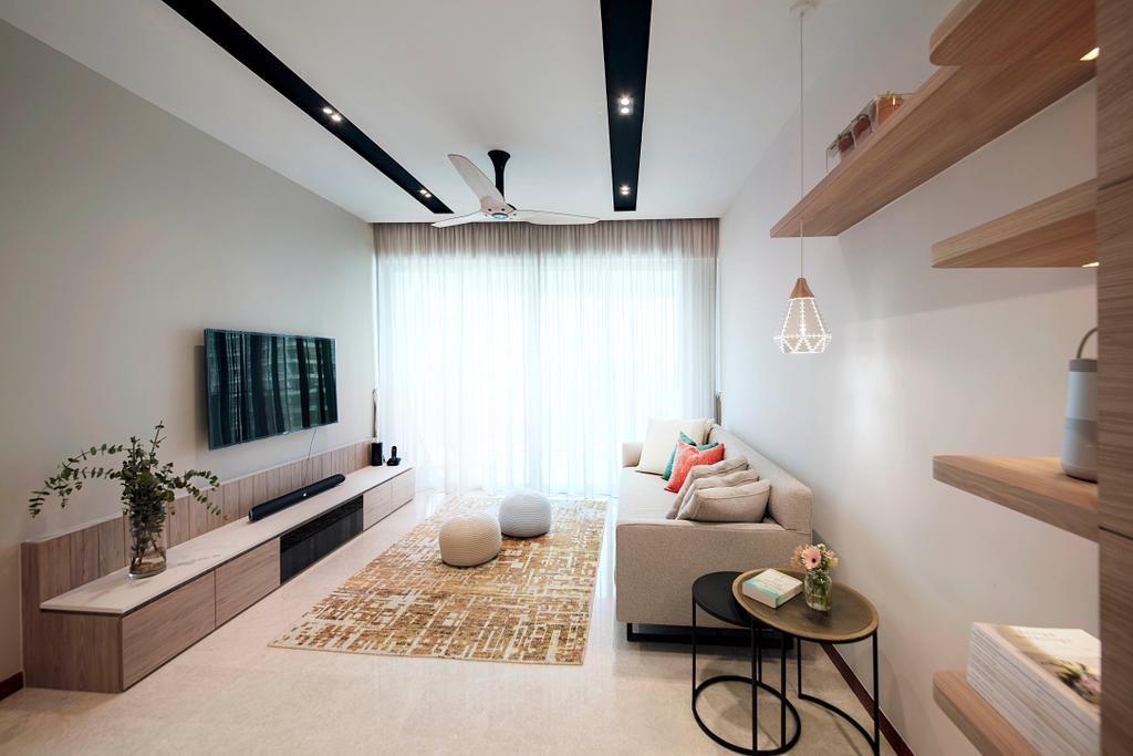 шторы в гостиную минимализм фото