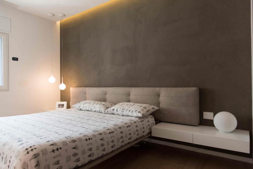 ремонт спальни минимализм