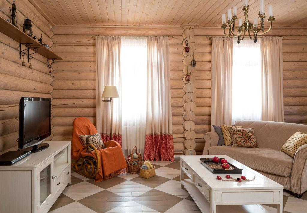 комната в стиле кантри