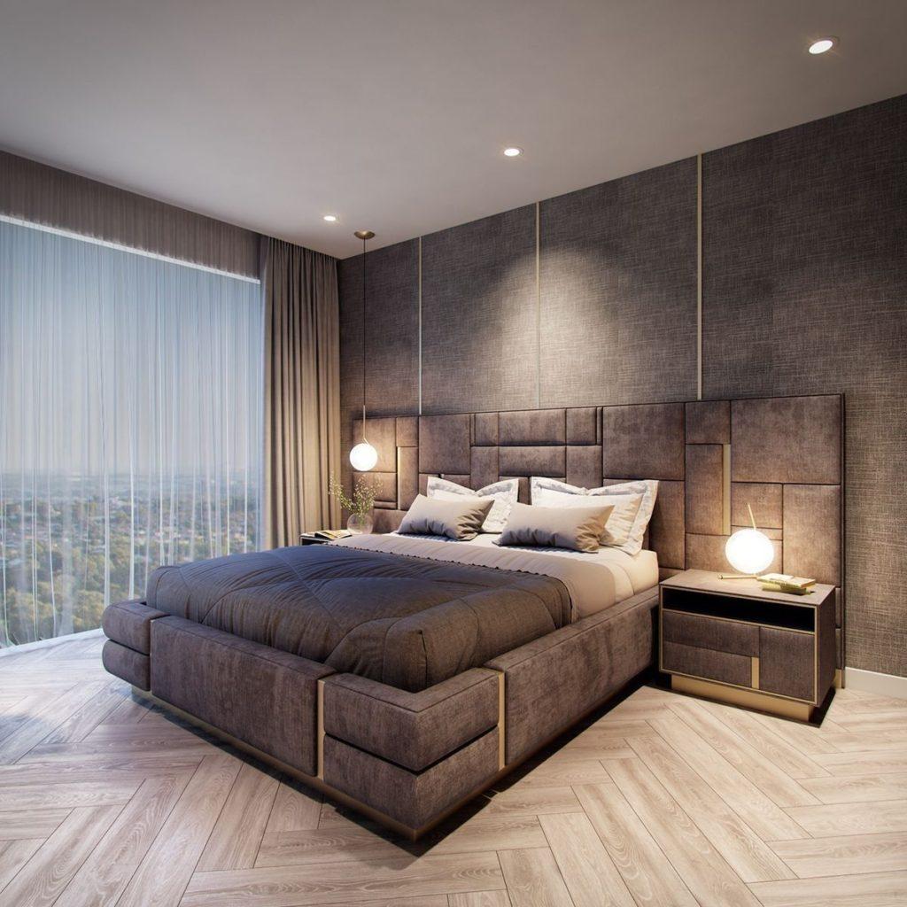 спальни минимализм хай тек