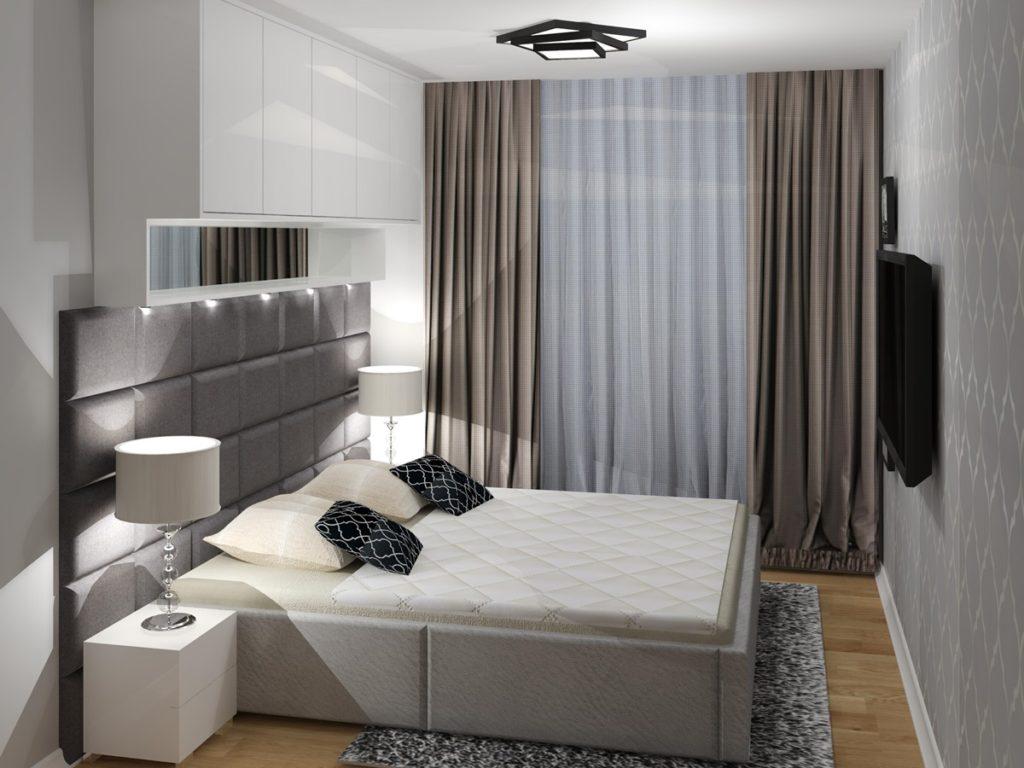 красивые спальни минимализм