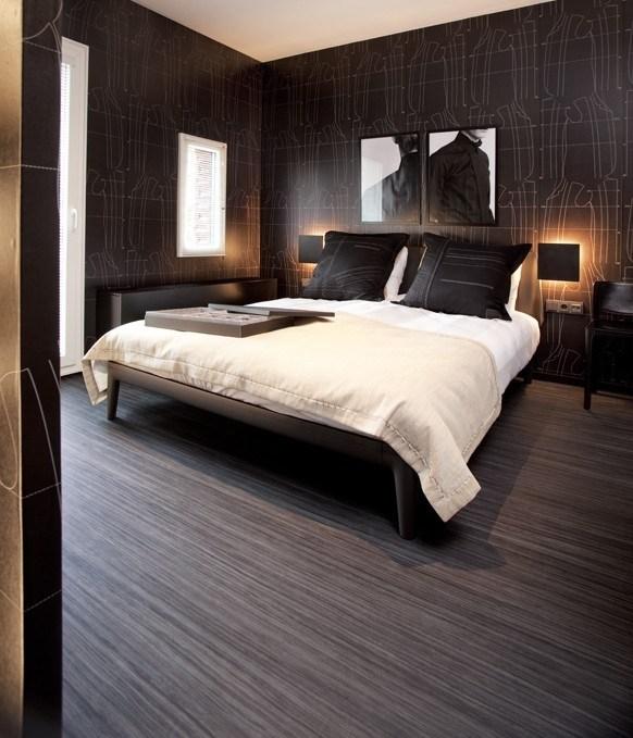 как оформить маленькую спальню в стиле минимализм