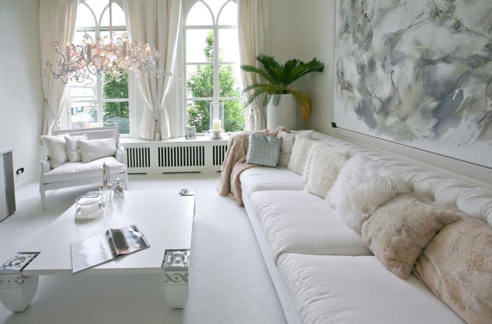 гостиный интерьер мебель