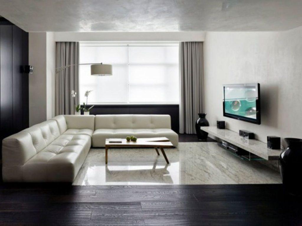 стенки в гостиную минимализм фото
