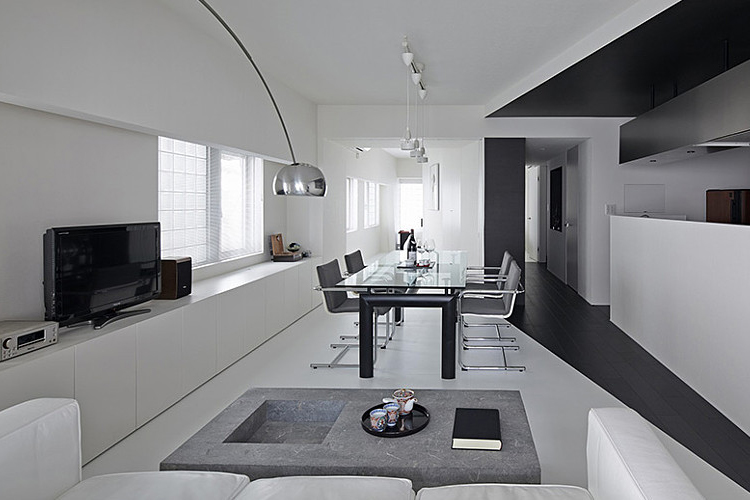 дизайн гостиной в частном фото