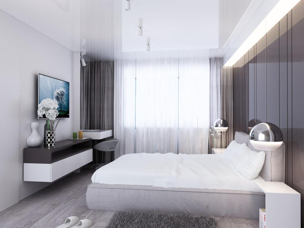 фото современной спальни в стиле минимализм