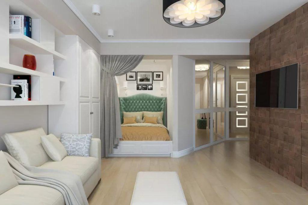 ремонт однокомнатных квартир фото дизайн
