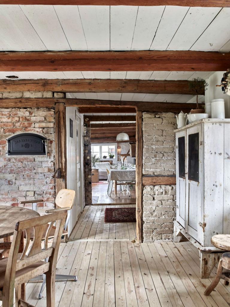 загородный дом в стиле кантри