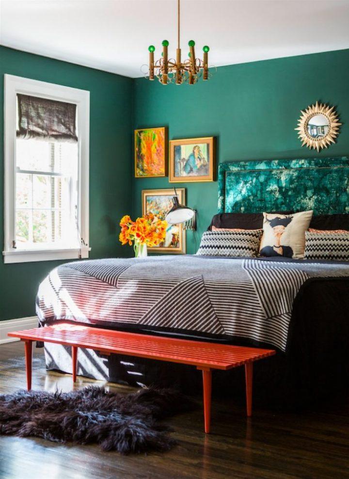 изумрудная спальня