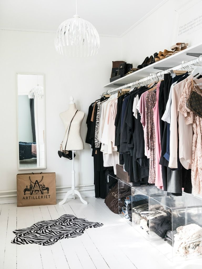 гардеробная комната планировка