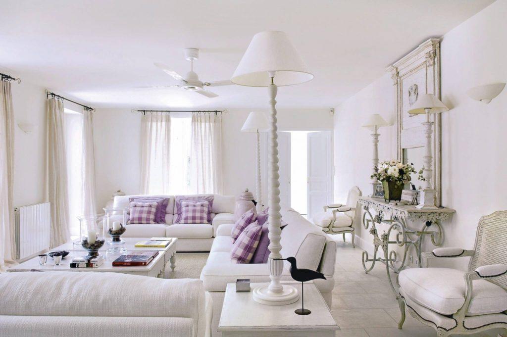 французский интерьер квартиры