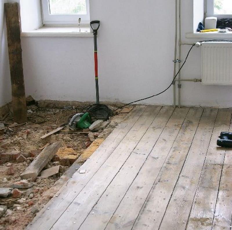 ремонт деревянных полов в квартире