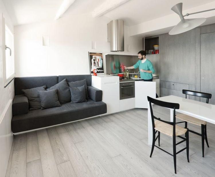 кухня гостиная в хрущевке фото