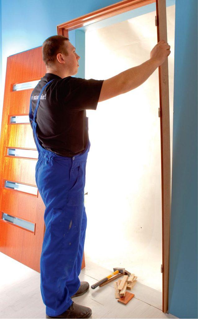 установка дверей своими руками пошаговая инструкция