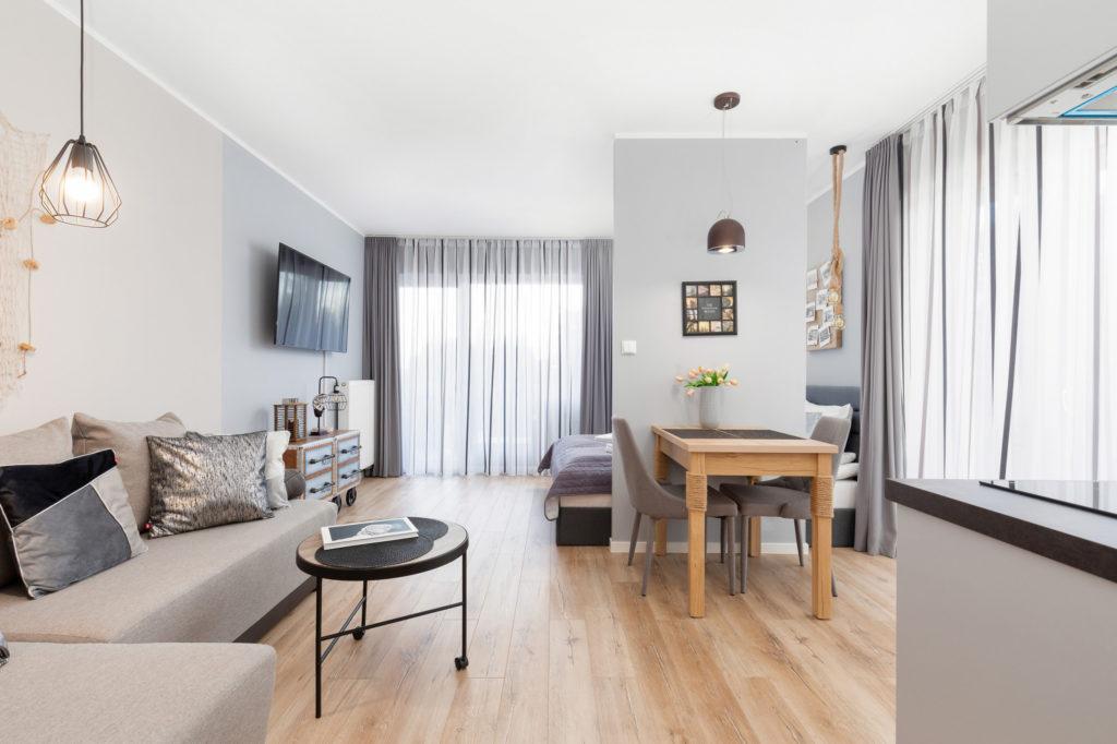 современная маленькая гостиная